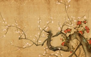 Japanese-Flowers-Art-Wallpaper-Painting-1024x640