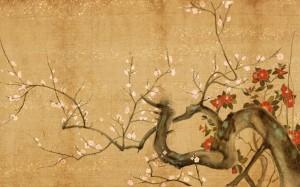 Japanese-Flowers-Art-Wallpaper-Painting-1024x640